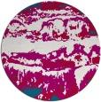 rug #1056556 | round graphic rug