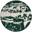 rug #1056570 | round blue-green abstract rug