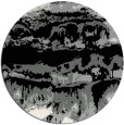 rug #1056578   round black abstract rug