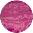 rug #1056654 | round pink rug