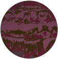 rug #1056670 | round purple abstract rug