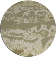 rug #1056774 | round light-green abstract rug