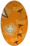 rug #105761   oval light-orange natural rug