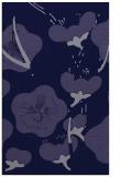 rug #105853 |  blue-violet natural rug