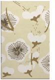 rug #106061 |  yellow natural rug