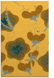 rug #106073 |  yellow natural rug