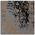 rug #1060858 | square black abstract rug