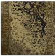 rug #1060870 | square black abstract rug