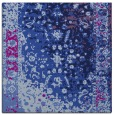 rug #1060886 | square blue abstract rug