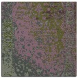 rug #1060990   square green abstract rug