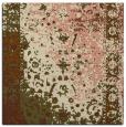 rug #1061000 | square traditional rug