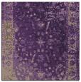 rug #1061094 | square purple graphic rug