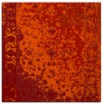 rug #1061106 | square red abstract rug