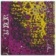 rug #1061174   square yellow abstract rug