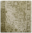 rug #1061190   square light-green traditional rug