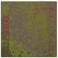 rug #1061194   square light-green traditional rug