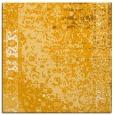 rug #1061202 | square light-orange abstract rug