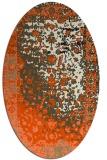 rug #1061245   oval abstract rug