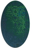 rug #1061288 | oval abstract rug