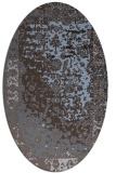 rug #1061331 | oval abstract rug