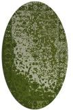 rug #1061346   oval green rug