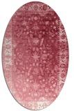 rug #1061444 | oval abstract rug