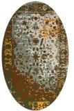 rug #1061580   oval abstract rug