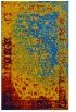 rug #1061618 |  blue graphic rug