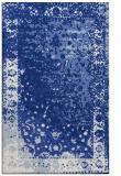 rug #1061634 |  blue abstract rug