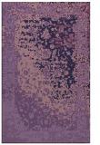 rug #1061686 |  purple graphic rug