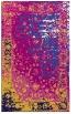 rug #1061690 |  blue-violet abstract rug
