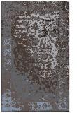 rug #1061698 |  blue-violet traditional rug