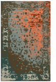 rug #1061798 |  orange traditional rug