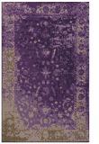 rug #1061830 |  purple abstract rug