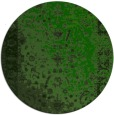 rug #1062014 | round green abstract rug