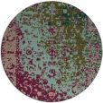 rug #1062070 | round brown abstract rug