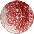 rug #1062214 | round red graphic rug