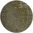 rug #1062302 | round light-green graphic rug