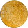 rug #1062306 | round light-orange traditional rug