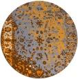 rug #1062318 | round traditional rug