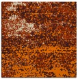 rug #1064530 | square orange abstract rug