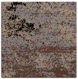 rug #1064546 | square brown graphic rug
