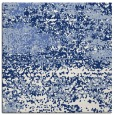 rug #1064578 | square blue graphic rug