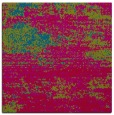 rug #1064654 | square blue-green graphic rug