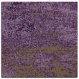 rug #1064774 | square purple graphic rug