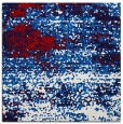 rug #1064782 | square red abstract rug