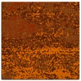 rug #1064798 | square red-orange abstract rug
