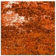 rug #1064810 | square red-orange graphic rug