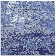 rug #1064826 | square blue abstract rug