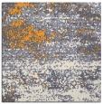 rug #1064894 | square light-orange graphic rug